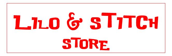 Boutique Lilo & stitch
